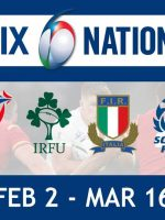 Watch the SIX Nations championship LIVE from Feb 2 to March 16